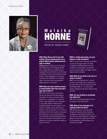 Page 10 of Malaika Horne