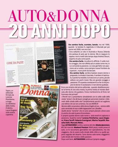 Page 22 of AUTO&DONNA VENT'ANNI DOPO