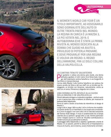 Page 25 of MAZDA 3 AUTO/REGINA IN VALPOLICELLA