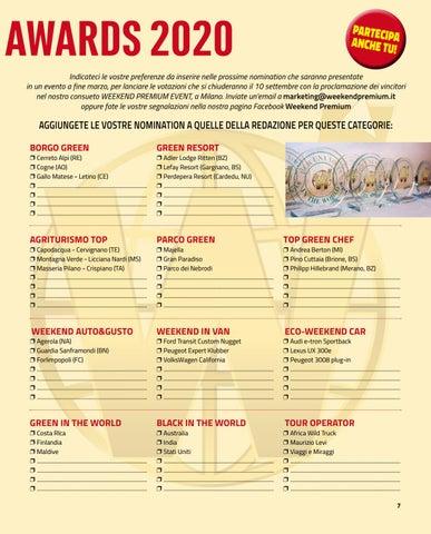 Page 7 of WEEKEND PREMIUM AWARDS
