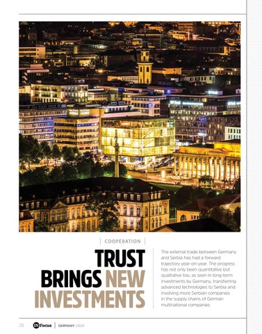 Page 28 of TRUST BRINGS NEW INVESTMENTS