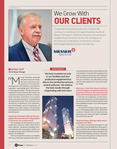 Page 30 of WE GROW WITH OUR CLIENTS