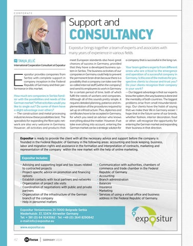 Page 42 of SUPPORT AND CONSULTANCY