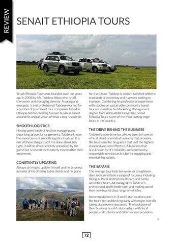 Page 12 of Senait Ethiopia Tours