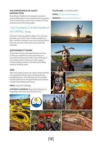 Page 13 of Senait Ethiopia Tours