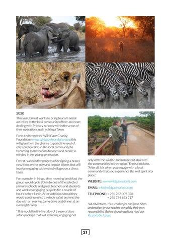 Page 21 of Wild Gaze Safaris