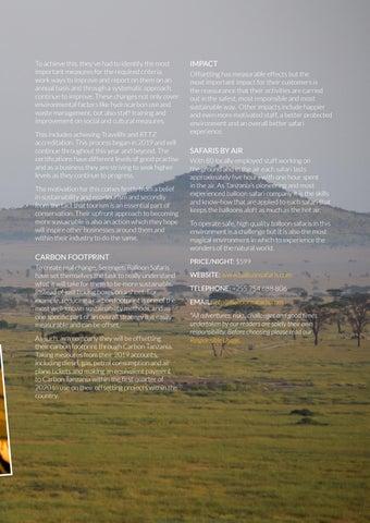 Page 23 of Serengeti Balloon Safaris