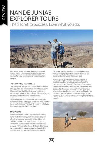 Page 24 of Nande Junias Explorer Tours
