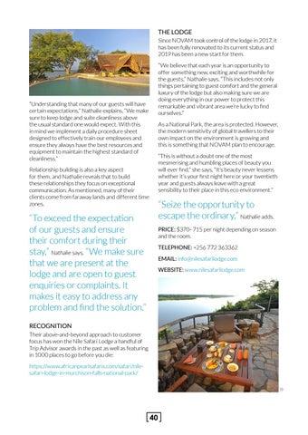 Page 40 of Nile Safari Lodge