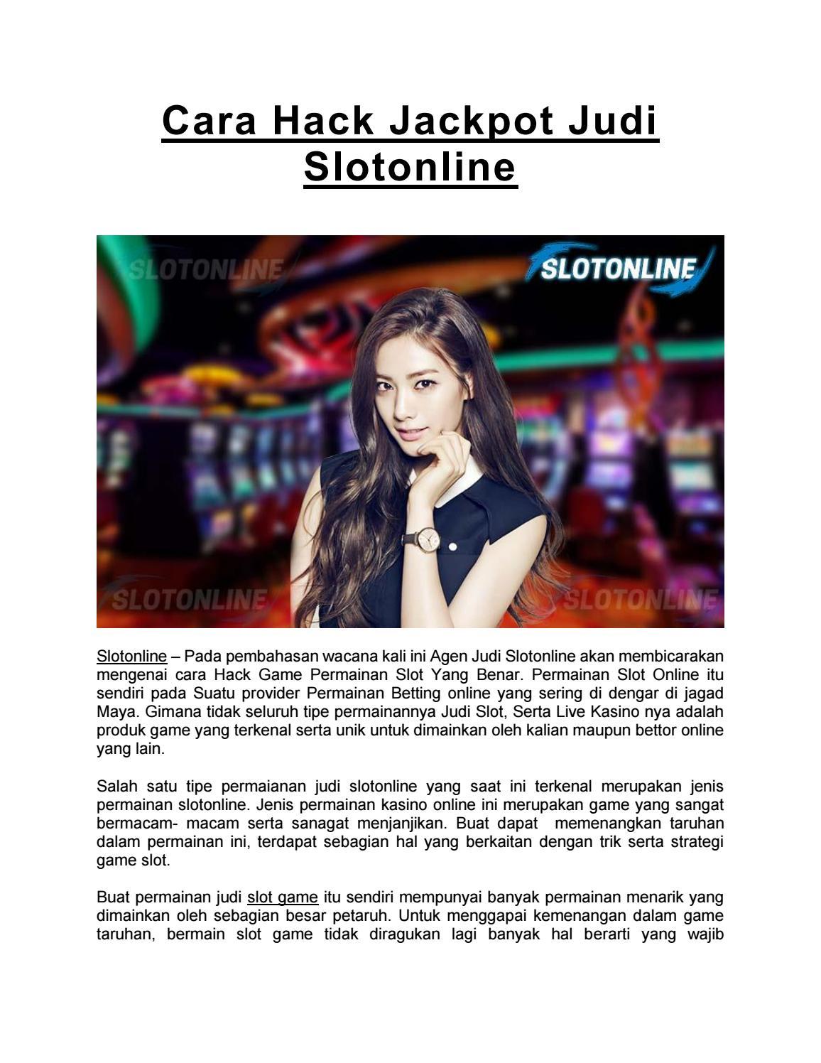 Cara Hack Jackpot Judi Slotonline By Slot Online Issuu