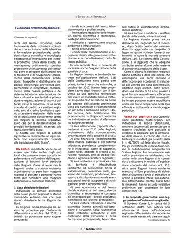 Page 5 of L'AUTONOMIA DIFFERENZIATA REGIONALE DI PAOLA MORIGI