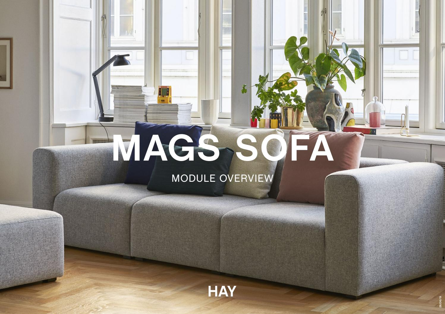 Hay Mags Sofa Module Overview By