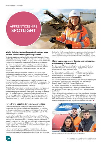 Page 22 of Appenticeships Spotlight
