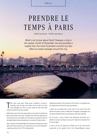 Page 22 of PRENDRE LE TEMPS À PARIS