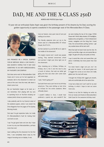 Page 60 of DAD, ME AND THE X-CLASS 250D