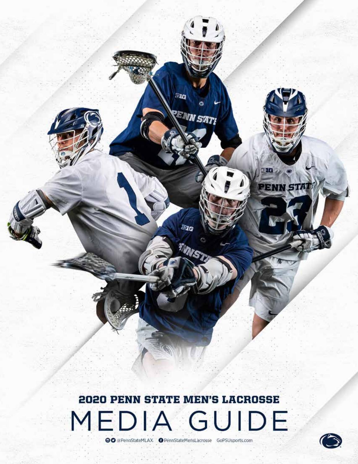 2020 penn state men s lacrosse media guide by penn state athletics issuu 2020 penn state men s lacrosse media