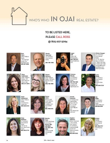 Page 34 of Who's Who In Ojai