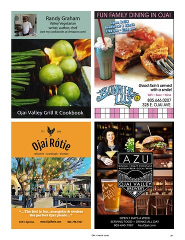 Page 39 of Eat in Ojai — Restaurant Guide