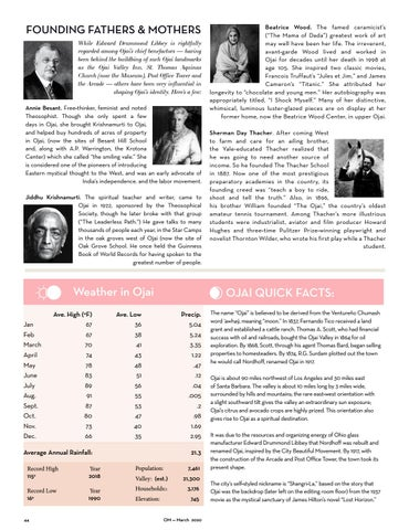 Page 44 of Ojai Facts & Founders