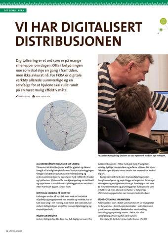 Page 34 of Vi har digitalisert distribusjonen