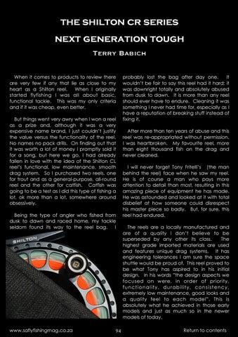 Page 91 of Shilton CR Series