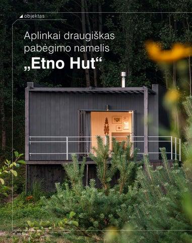 """Page 12 of objektas Aplinkai draugiškas pabėgimo namelis """"Etno Hut"""