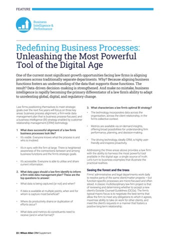 Page 22 of Redefining Business Processes: Unleashing the Most Powerful Tool of the Digital Age
