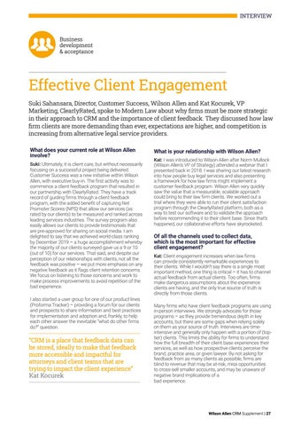 Page 27 of Effective Client Engagement