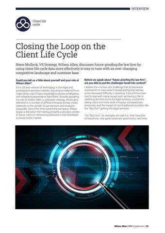 Page 33 of Closing the Loop on the Client Life Cycle