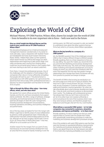 Page 5 of Exploring the World of CRM