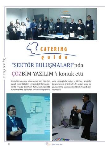 """Page 20 of SEKTÖR BULUŞMALARI""""nda ÇÖZBİM Yazılım 'ı"""