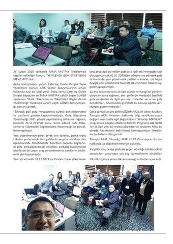 """Page 21 of SEKTÖR BULUŞMALARI""""nda ÇÖZBİM Yazılım 'ı"""