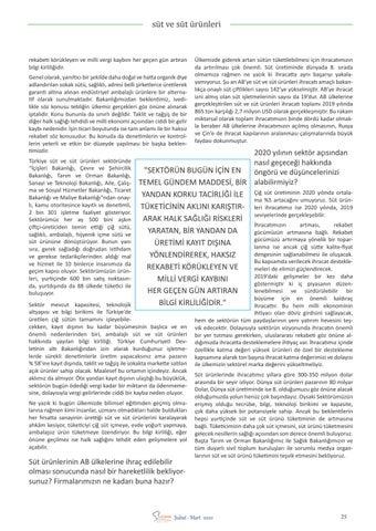 """Page 27 of Tarık TEZER """"Çiğ sütün arzına dair tebliğ"""" ülkemiz gerçekleri"""