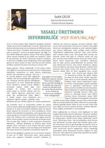 "Page 36 of Yasaklı Üretimden Seferberliğe ""ATA TOHUMLARI"