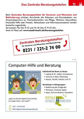 Page 11 of Das Zentrale Beratungstelefon