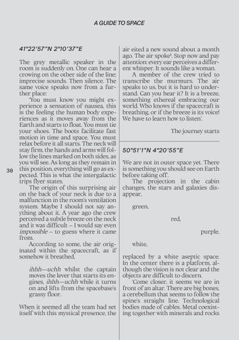 Page 30 of A GUIDE TO SPACE [Eng
