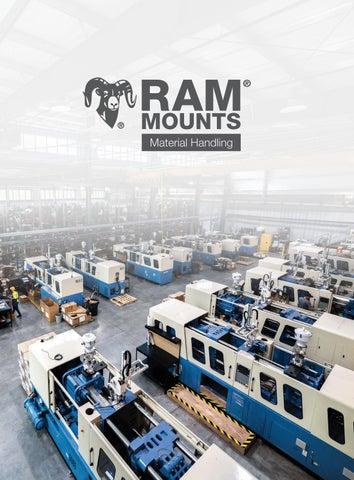 """RAM D-2461U Mount D size 2.25/"""" Ball 75 X 75mm 3.625/"""" VESA Plate"""