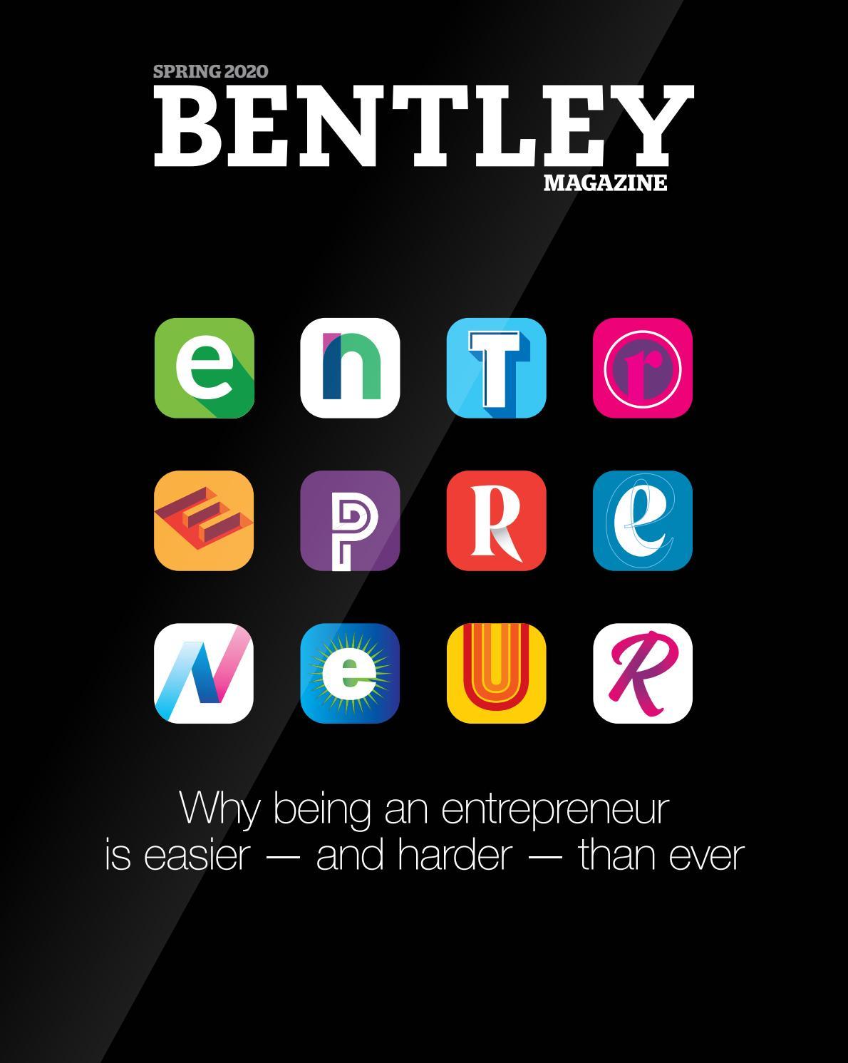 Bentley Magazine Spring 2020 By Bentley University Issuu