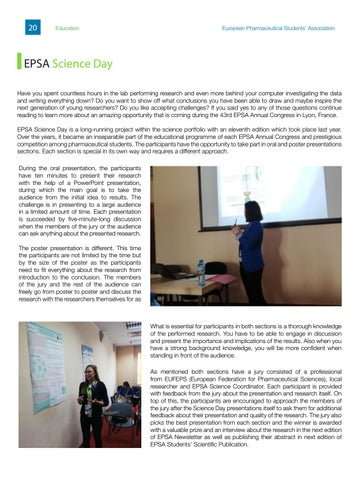 Page 20 of EPSA Science Day