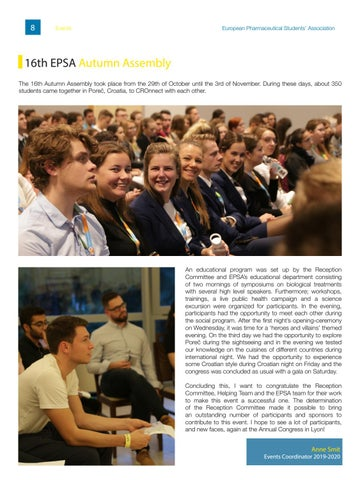 Page 8 of 16th EPSA Autumn Assembly