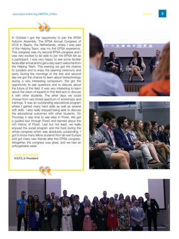 Page 9 of 16th EPSA Autumn Assembly
