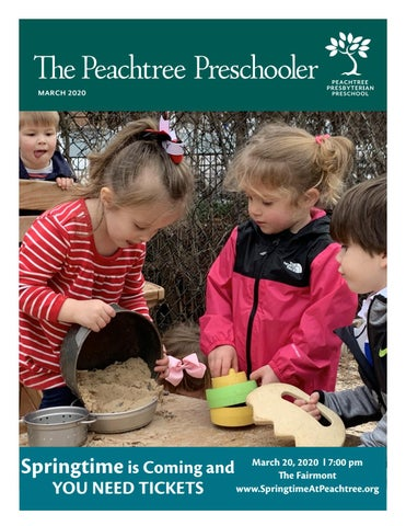 Peachtree Pres Christmas Service 2020 March 2020   Peachtree Presbyterian Preschooler by Peachtree