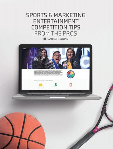Page 18 of Sports and Entertainment Competition Tips from the Pros