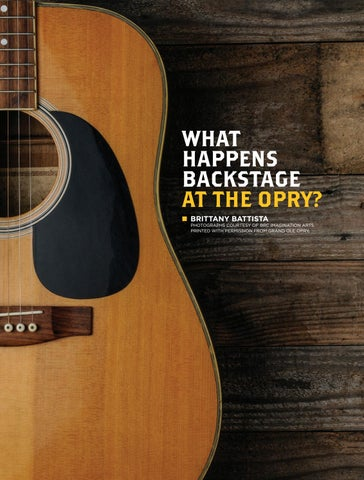Page 21 of What Happens Backstage at the Opry?