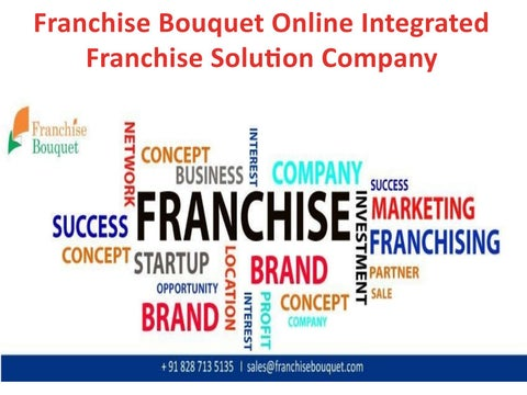 India By Franchise Bouquet Issuu