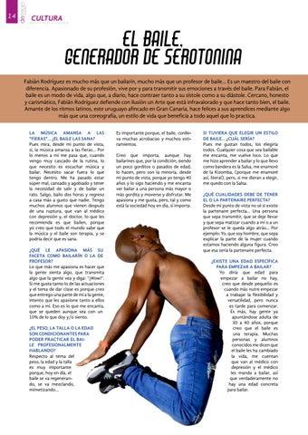 Page 14 of Fabián Rodríguez: El baile, generador de serotonina