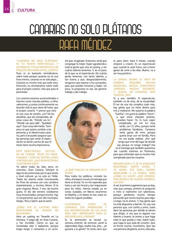Page 16 of Rafa Méndez: Canarias no solo plátanos