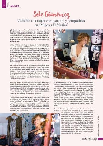 Page 18 of Sole Giménez visibiliza a la mujer como autora