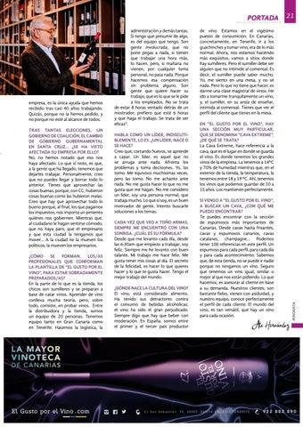 """Page 21 of Toño Armas: """"Si de algo presumo es del equipo que"""