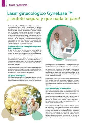 Page 24 of Hospiten: Láser ginecológico
